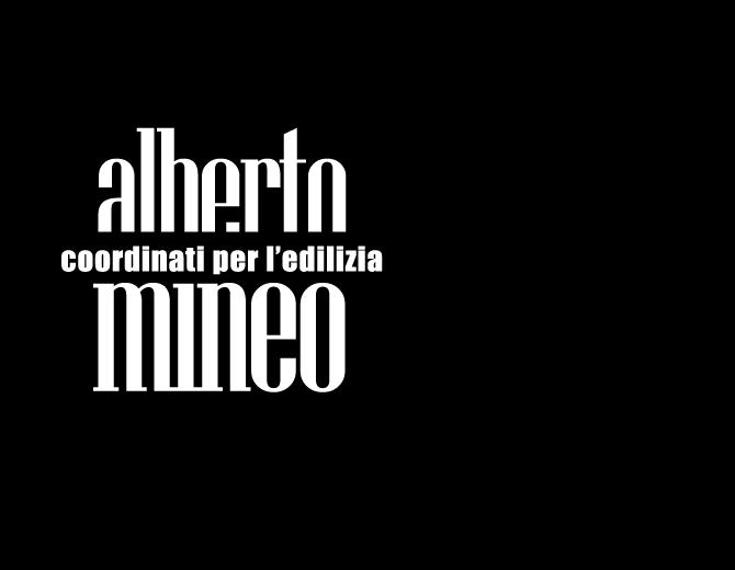 Alberto Mineo Ceramiche - logo shadow